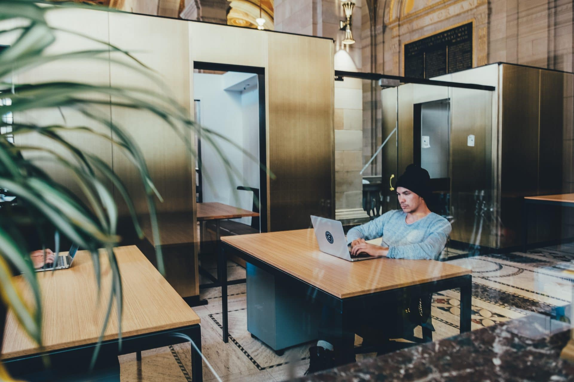 A man working remotely - one of our HR consultants top tips for employee retention
